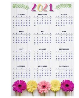 Calendarios Afiche